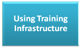 Using Training Infrastructure
